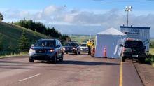 Long lines at New Brunswick border as Atlantic bubble arrives