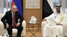 Vladimir Putin lands in Abu Dhabi, seeks $1.3 billion investment in Russia