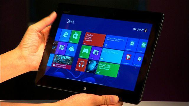 Asus Vivo Tab RT gracefully integrates the tablet and keyboard together