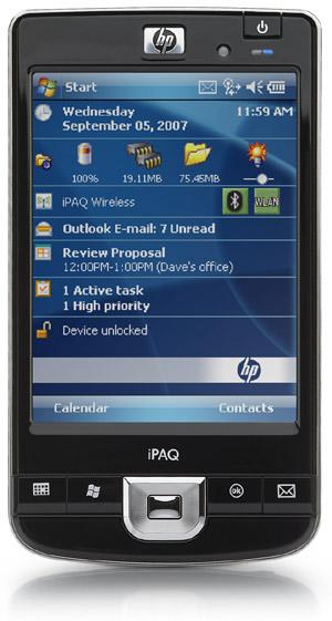 HP unleashes iPAQ series 100 and 200 PDAs