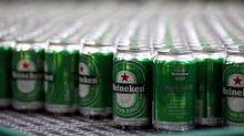 Heineken's beer boost offset by higher aluminium costs