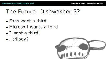 James Silva ready to make a third Dishwasher game for Microsoft