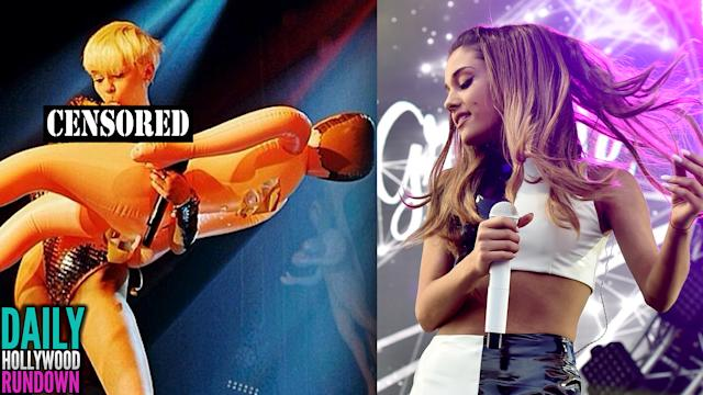 Miley Licks & Rides Blow Up Penis? Ariana Grande Performs With Iggy Azalea At Wango Tango! (DHR)