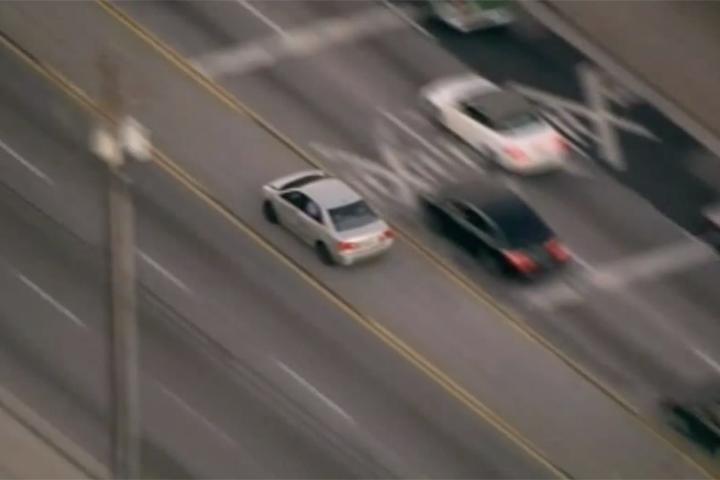 Watch this Carjacker Lead Police on a Dramatic High Speed Chase