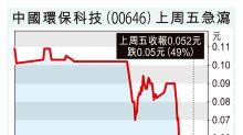 瑪麗逃犯疑為中國環保科技股東