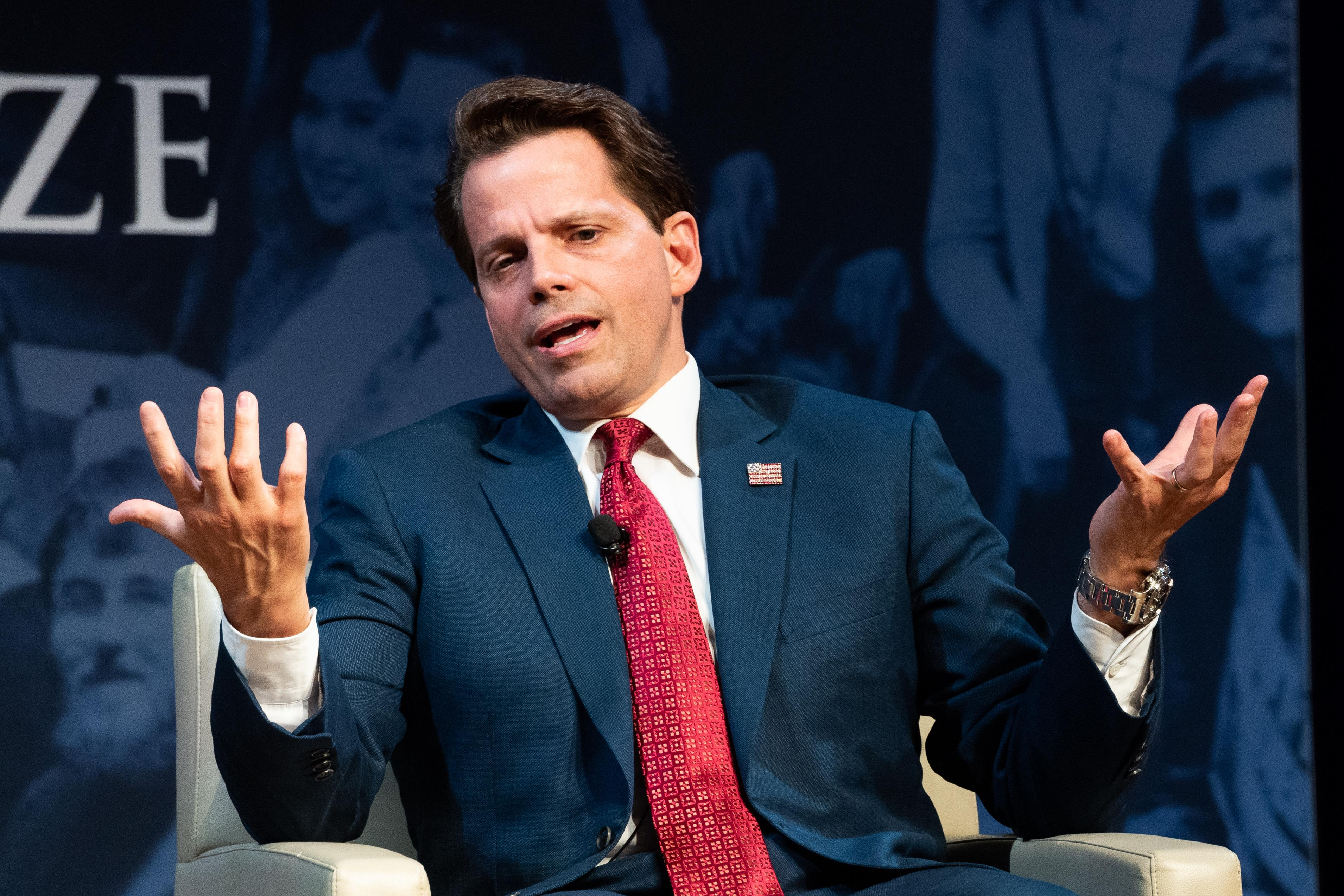 Scaramucci explains why Trump won't get re-elected