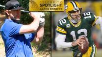 Celebrity Golf Spotlight: Aaron Rodgers