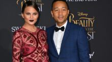 Chrissy Teigen reveals she is pregnant in adorable video with daughter Luna