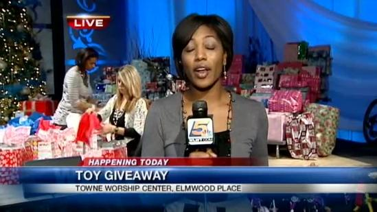Local church Christmas provides toys, bikes