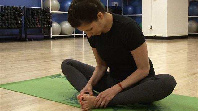 Service members looking to yoga to deal with PTSD