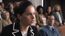 Felicity Jones, who played Ruth Bader Ginsburg in biopic, explains why the Supreme Court Justice was a modern-day superhero