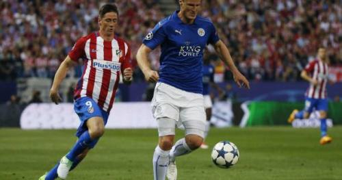 Foot - C1 - Leicester - Robert Huth (Leicester) suspendu au match retour contre l'Atlético de Madrid