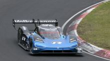 Watch the screaming VW ID. R testing at the Nurburgring