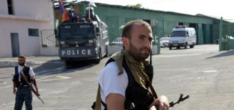 Shootout injures five as lengthy Armenia standoff drags on