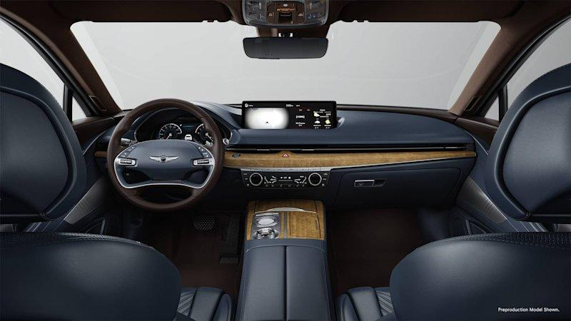 2021 Genesis G80 Interior Looks Spectacular In Its Many Colors
