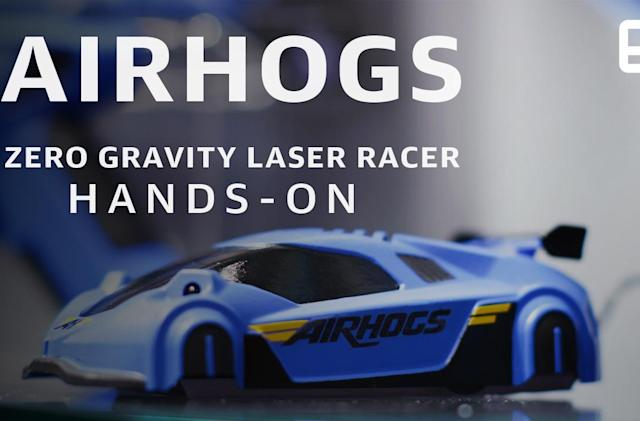 Air Hogs' new racer is the Spider-Man of remote-controlled cars