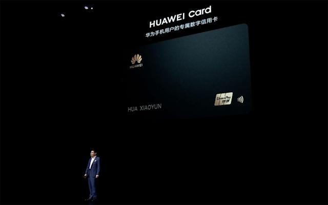 Of course Huawei will have its own credit card