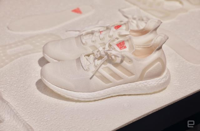 Adidas made a running shoe that's fully recyclable