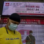 Asian shares gain despite virus worries; China exports rise