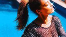 Juliana Paes brilha com body transparente que ganhou de Ana Maria Braga