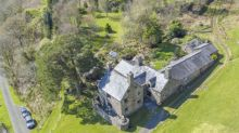 This charming manor house in Wales comes with its own private railway platform