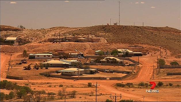 Coober Pedy becomes boom town