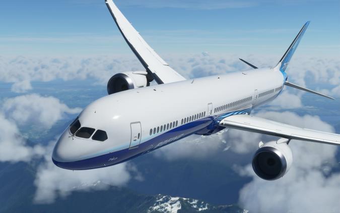 'Flight Simulator' Boeing Dreamliner