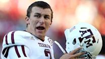 Johnny Football crashes Heisman race