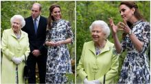 The Queen joins Will and Kate on royal outing