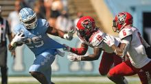 UNC Football: Running at will against a woeful Wolfpack