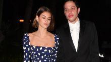 Kaia Gerber wears $380 dress on date night with Pete Davidson