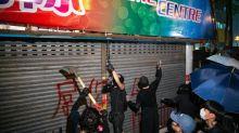"""Las protestas de Hong Kong llegan al consumismo: así es el """"círculo amarillo"""""""