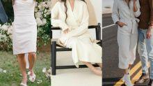 Vestidos de casamento minimalistas são a nova tendência entre as noivas