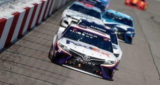 Frustration grows at Richmond, but Denny Hamlin finds solace in 'smashing everyone' so far in 2021