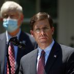 Pentagon chief Esper reverses decision to send some troops home from D.C. amid protests