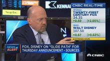 Fox and Disney on 'glide path' for Thursday deal announce...