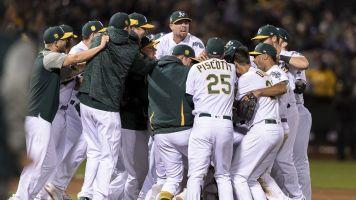 Athletics wrap up improbable playoff berth