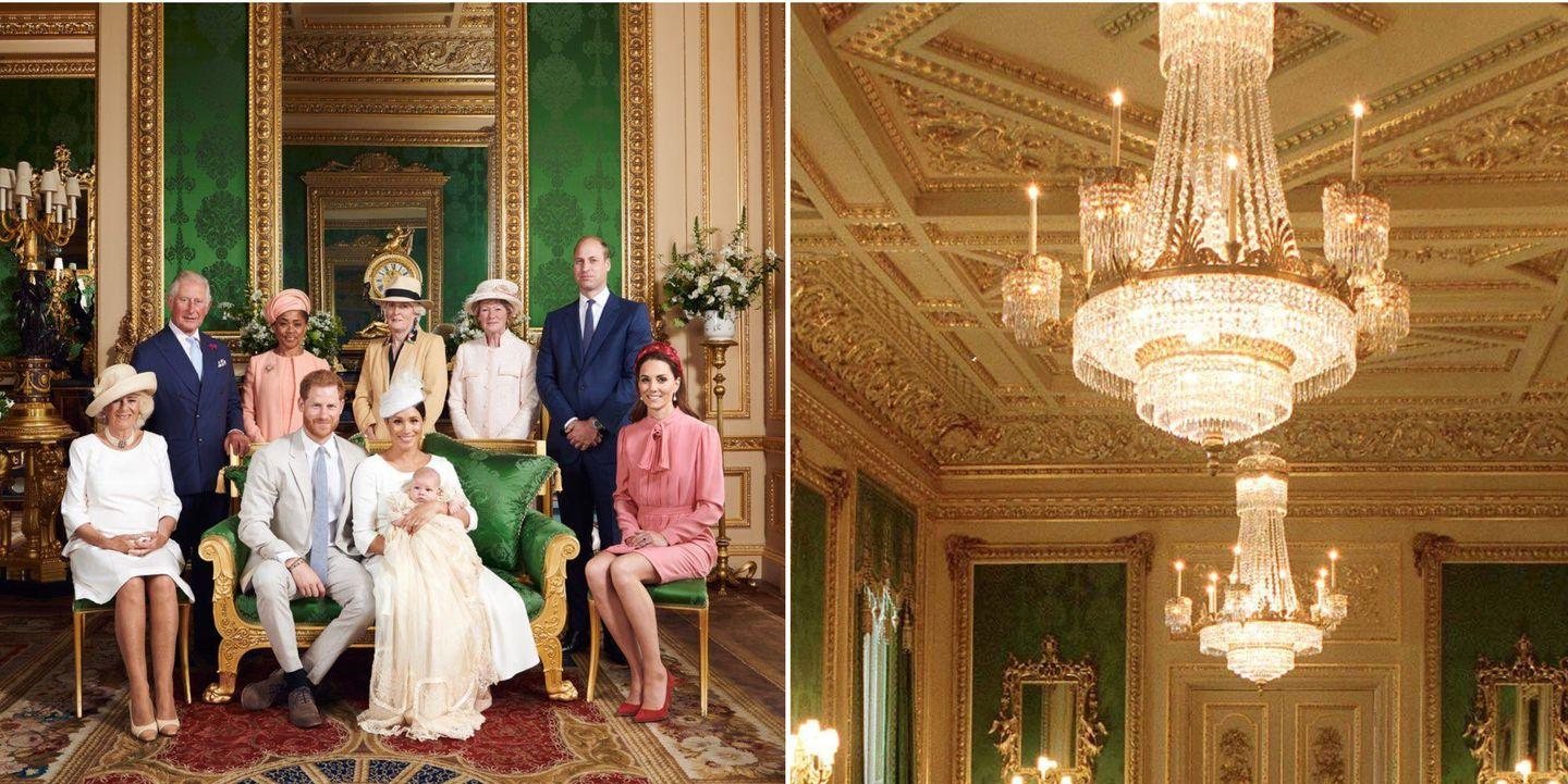 Inside the Iconic Windsor Castle Room Where Baby Archie's ...