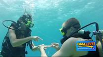 Treasure Hunt Leads to Underwater Proposal