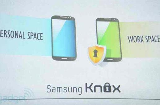 Samsung's Knox security solution to launch with Galaxy S 4