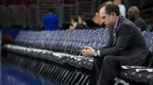 """Sam Hinkie """"stoked"""" Daryl Morey now runs 76ers; not fan of trading Embiid, Simmons"""