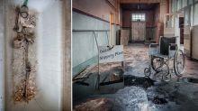'Harrowing' images capture 'eerie' abandoned lobotomy asylum