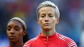 Rapinoe's protest draws response from Trump
