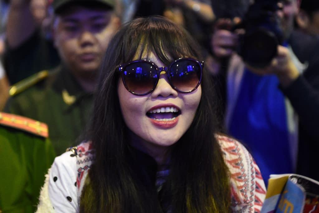 Vietnamese woman in Kim Jong Nam murder case arrives home