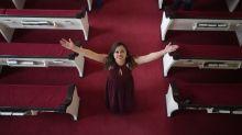 Honduran woman exits Utah church after 3 years in sanctuary