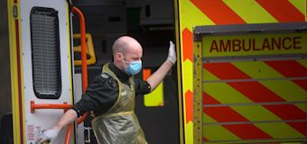 UK records highest daily COVID death toll since May 12