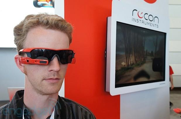 Recon Instruments Jet heads-up display debuts at Google I/O, we go hands-on (video)