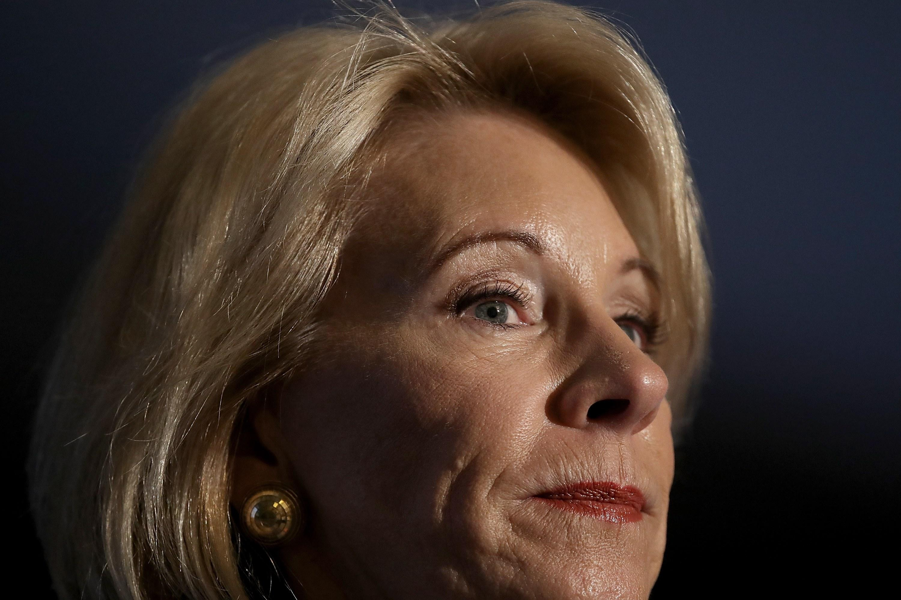 Betsy DeVos Is Working Hard to Make Student Loan Forgiveness an Impossibility
