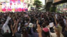 10,000 protesters defy Thai crackdown after emergency decree, arrests