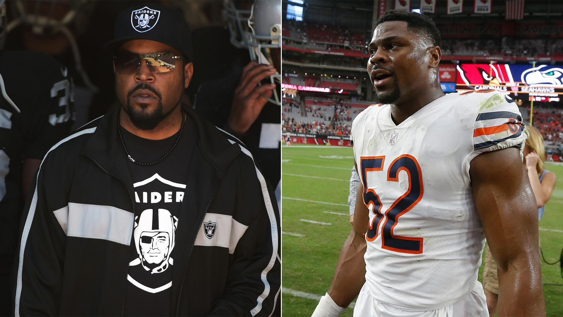 Ice Cube calls Raiders' winless start after Khalil Mack trade 'Football 101'